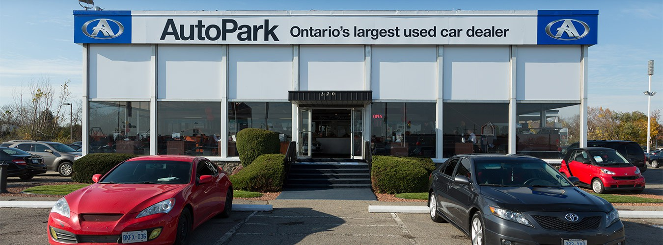 Used car dealership Autopark Brampton