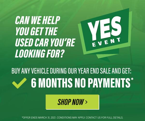 Year End Sale Used Car Dealership