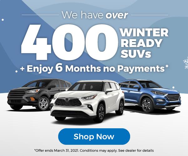 Winter ready SUVs Used Car Dealership