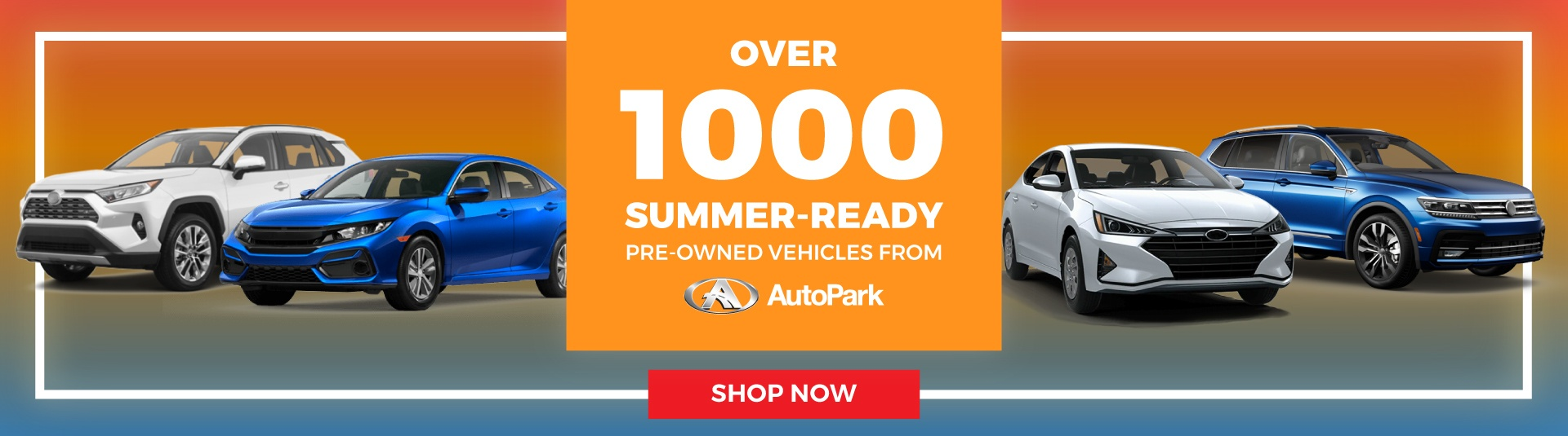 AutoPark Used Car Dealership Cars in Summer